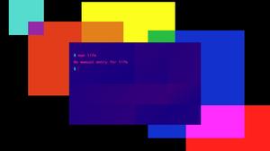 Minimalism Digital Digital Art Colorful Bash Terminals 2560x1600 Wallpaper