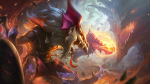 Twitch Twitch League Of Legends Dragon League Of Legends Riot Games ADC Adcarry 4K Fire 7680x4320 Wallpaper