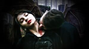 Blood Dark Fantasy Vampire Woman 3905x2948 Wallpaper