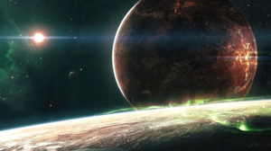 Planet Space 3840x1947 Wallpaper