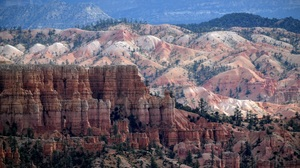 Bryce Canyon National Park Canyon Cliff Earth Landscape Nature Rock Usa Utah 2992x2000 Wallpaper