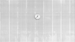 Clock Minimalist 2048x1400 Wallpaper