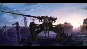 Cannon Military Short Hair Sunset 3840x1931 Wallpaper