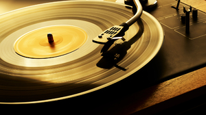 Vinyl Music Vintage Gramophone Technology Motion Blur Shadow 1920x1200 Wallpaper