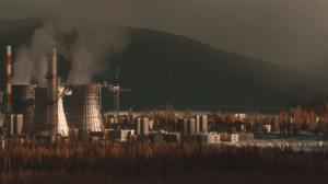 Power Plant Landscape 3440x1440 Wallpaper