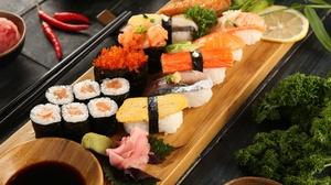 Fish Seafood Still Life Sushi 2048x1365 Wallpaper