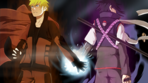 Naruto Uzumaki Sasuke Uchiha 2000x1309 Wallpaper