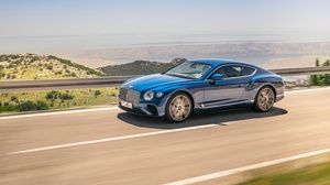 Bentley Bentley Continental Gt Blue Car Car Luxury Car 6269x4179 Wallpaper