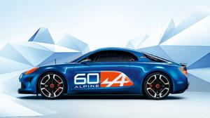 Alpine Celebration Concept Blue Car Car Concept Car Coupe Race Car Sport Car 2560x1600 Wallpaper