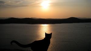Landscape Mountain Scenic Sunset 1920x1200 Wallpaper