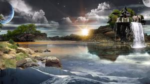 Fantasy Elemental 1280x964 Wallpaper