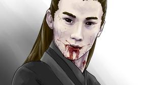 Li Bo Wen Song Lan 2560x2119 Wallpaper