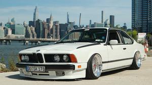 Classic Car Car Show BMW New York City Chrysler Building 3440x1440 Wallpaper
