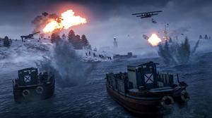 Aircraft Battle Battlefield 1 Boat 2560x1440 Wallpaper
