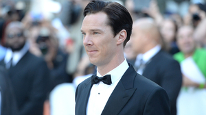 Actor Benedict Cumberbatch English 2880x1800 wallpaper