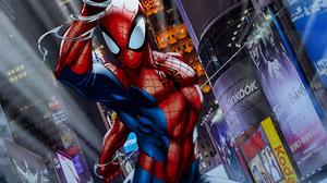 Spider Man 4375x2461 Wallpaper