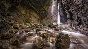 Nature River Waterfall 7802x5204 wallpaper