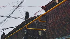 Weiqiang Fengjng Asia Building Pipes Outdoors Urban Bricks 1616x1080 Wallpaper