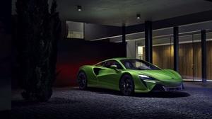 Mclaren Car Green Car Sport Car Supercar 4096x2731 Wallpaper
