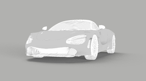 McLaren 720S Minimalism Sports Car Sketches Car Monochrome 7680x5071 wallpaper