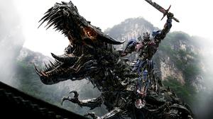 Dragon Optimus Prime Transformers 7000x5600 Wallpaper
