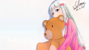 Eromanga Sensei Anime Girls Izumi Sagiri Anime Teddy Bears 1920x1200 Wallpaper