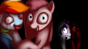 My Little Pony Pinkie Pie Rainbow Dash Twilight Sparkle 1920x1200 Wallpaper