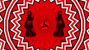Artistic Digital Art Itachi Uchiha Kaleidoscope Mangeky Sharingan Naruto Pattern Sharingan Naruto 2560x1440 Wallpaper