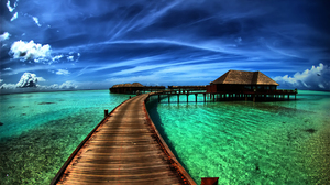 Holiday Ocean Resort Sky Tropical 1920x1200 wallpaper