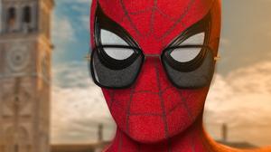 Spider Man Spider Man Far From Home Sunglasses 2339x1315 wallpaper
