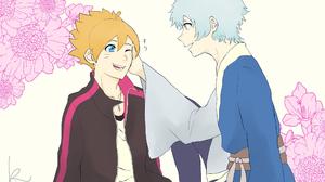 Boruto Uzumaki Flower Mitsuki Naruto 2048x1489 Wallpaper
