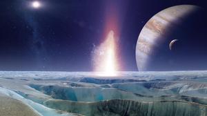 Sci Fi Europa 3840x2160 Wallpaper