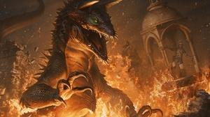 Creature Flame Lizard 1920x1280 wallpaper