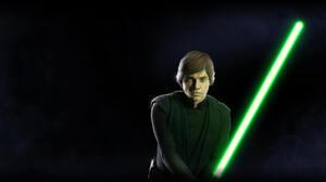 Jedi Luke Skywalker Star Wars Star Wars Battlefront Star Wars Battlefront Ii 2017 5120x2880 Wallpaper
