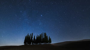 Nature 500px Trees Sky Outdoors Stars Night Sky 2048x1366 Wallpaper