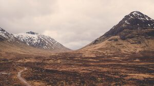 Scotland Mountains Nature Landscape Altnafeadh 5120x2880 Wallpaper