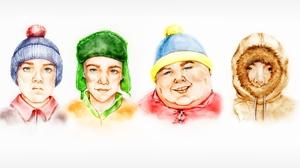 Stan Marsh Kyle Broflovski Eric Cartman Kenny McCormick 1280x1024 Wallpaper