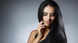 Model Black Hair 2560x1707 wallpaper