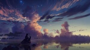 Yuumei Digital Reflection 1500x1000 Wallpaper