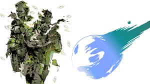 Metal Gear Solid Final Fantasy Vii 1920x1080 Wallpaper