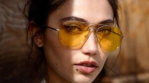 Women Portrait Face Glasses 2500x3748 wallpaper