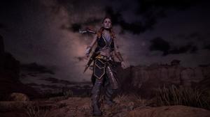 Horizon Zero Dawn Girl Front Line Women Game Characters Landscape Nature Screen Shot Video Games 3840x2160 Wallpaper