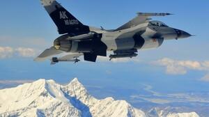 Military General Dynamics F 16 Fighting Falcon 2000x1331 Wallpaper