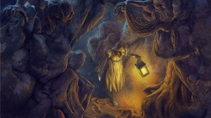 Cave Dungeon 2560x1440 Wallpaper