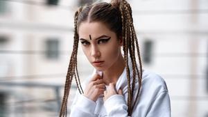 Ksenia Kokoreva Face Women Yuriy Lyamin 1800x1013 Wallpaper