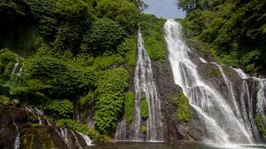 Landscape Indonesia Waterfall 2376x1584 Wallpaper