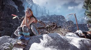 Horizon Zero Dawn Women Game Characters Landscape Nature Screen Shot Video Games 3840x2160 Wallpaper