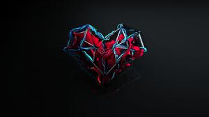 Digital Art Heart 2560x1440 wallpaper