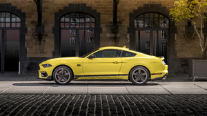 Ford Ford Mustang Mach 1 Car Vehicle Muscle Cars Yellow Cars 5120x2880 Wallpaper