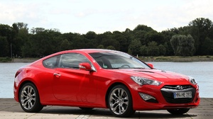 Car Hyundai Hyundai Genesis Coupe Red Car Sport Car Vehicle 2048x1536 Wallpaper